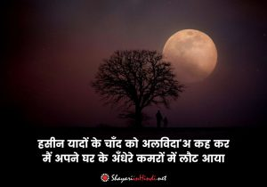 Chaand Shayari in Hindi